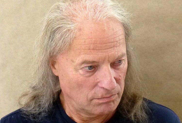 Herren-Perücke grau schütteres Haar