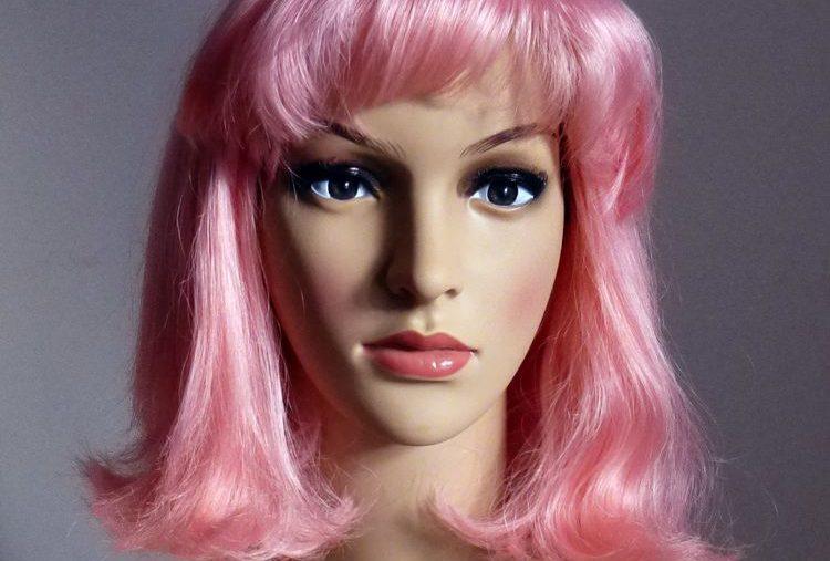 Damen-Perücke Bob-Pink-Ida 15